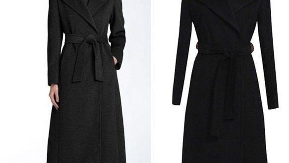 2019 Fashion Black Wool Coat Women's Long Wool Trench Coat Plus .