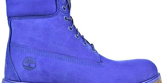Amazon.com | Timberland 6 Inch Premium Waterproof Men's Blue Boots .