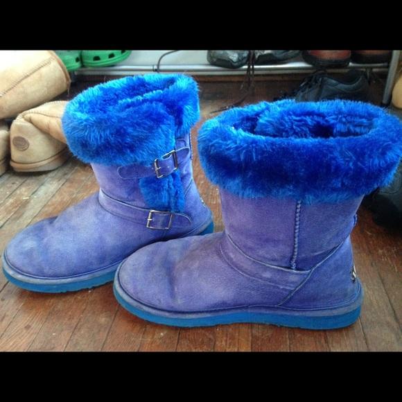 Lamo Shoes | Lmao Blue Boots | Poshma