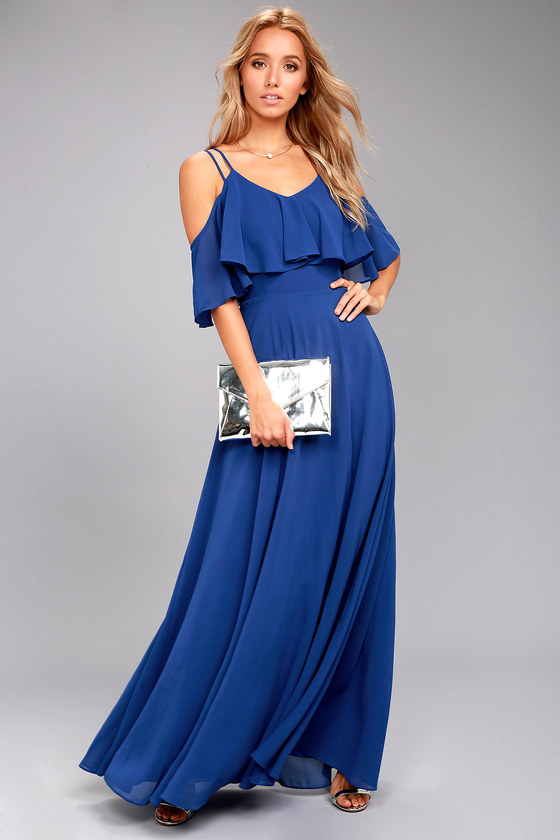 royal blue maxi dresses – Fashion dress