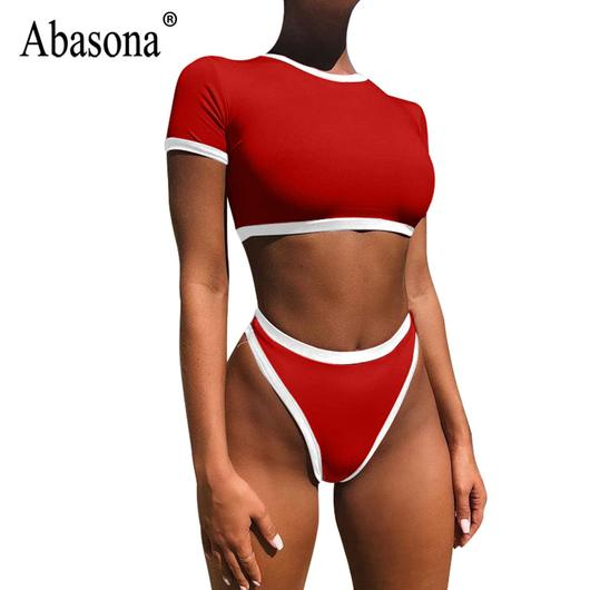 Abasona Bodysuit Women Body Suits for Women Sexy Romper O Neck .