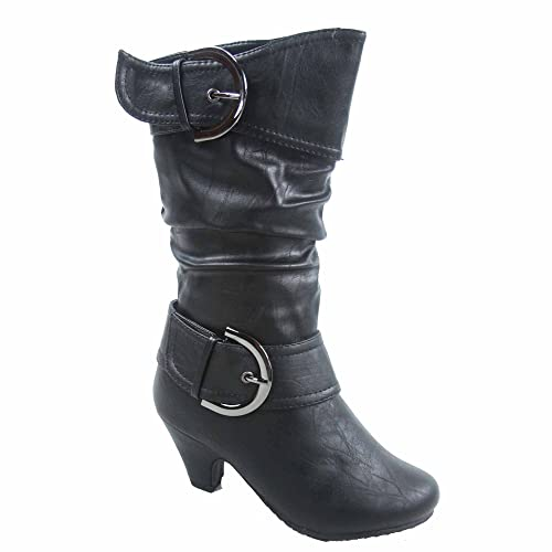 Kids Boots with Heels: Amazon.c