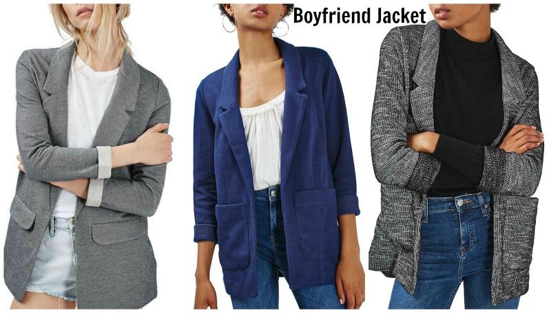 The Boyfriend Jacket for Women - Long Boyfriend Blazer in any colo