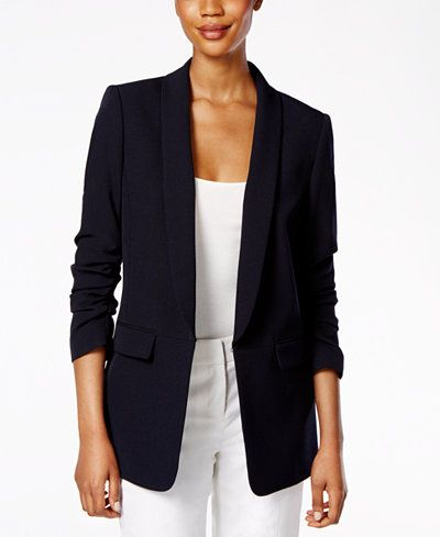 The Boyfriend Jacket for Women - Long Boyfriend Blazer in any .