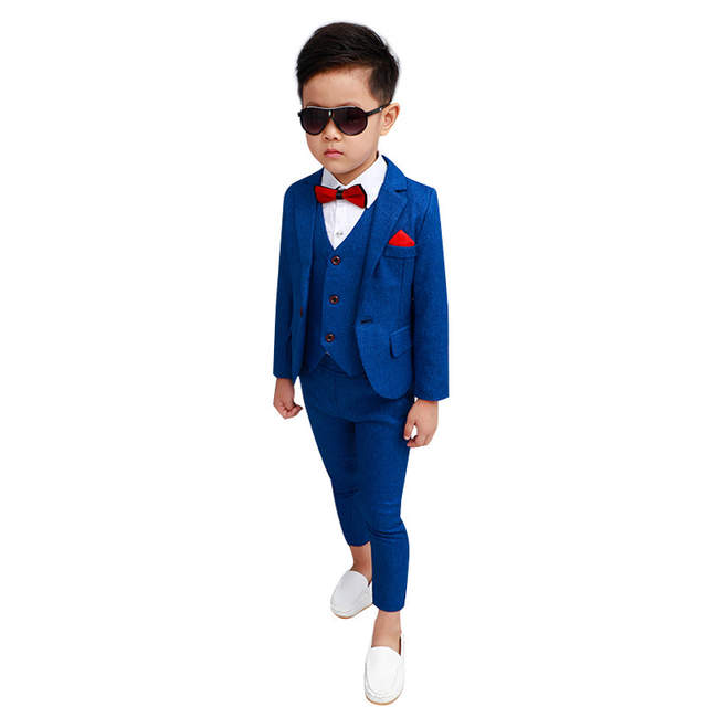 Blue Suit for Boys Costume enfant garcon mariage Kids Wedding .