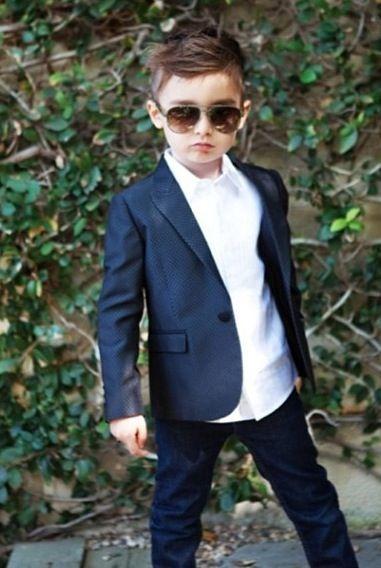 Little boy looking so confident in his suit. | Kids suit boys .