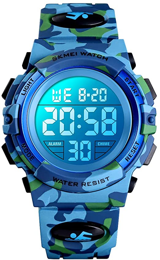 Amazon.com: Boys Watches Digital Sports 50M Waterproof Electronic .