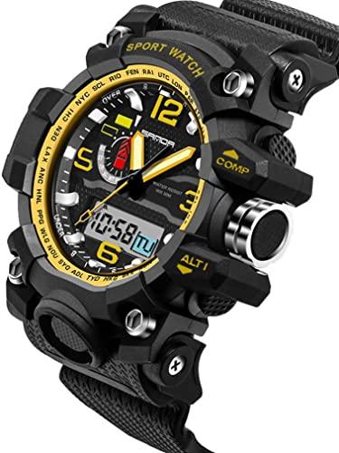 Amazon.com: Sport Watch Multifunction Analog Digital Boys Watches .