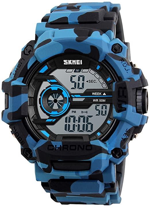 Amazon.com: SKMEI Boys Watches Digital Sports Wristwatches Outdoor .