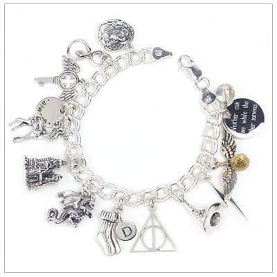 Wizarding Charm Bracelet for the Harry Potter f