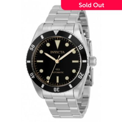 Invicta 40mm Pro Diver 1953 Automatic Stainless Steel Bracelet .