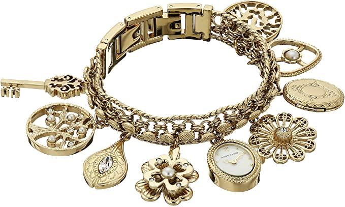 Amazon.com: Anne Klein Women's 10-8096CHRM Swarovski Crystal .