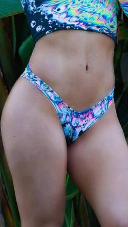 Acid Sky Brazilian Bikini Bottoms – Freedom Rave We