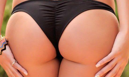 Brief Scrunch Thong Brazilian Bikini Bottom – Bikinis