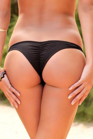 Bikini Bottoms - Cheeky, Thong, High Cut Leg Brazilian Swimsuit .