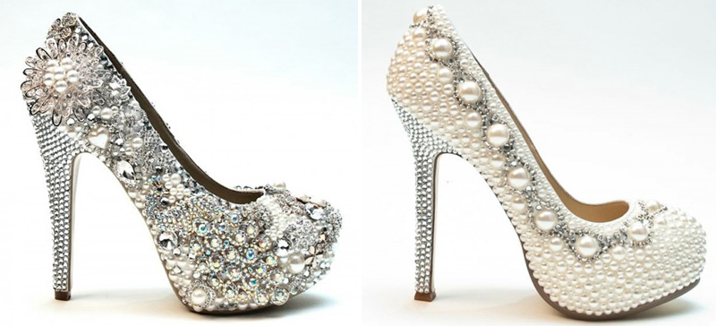 Wedding Shoes for Summer : from Bridal Heels to Ballet Flats and .