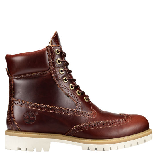 Men's Limited Release Timberland® 6-Inch Waterproof Brogue Boots .
