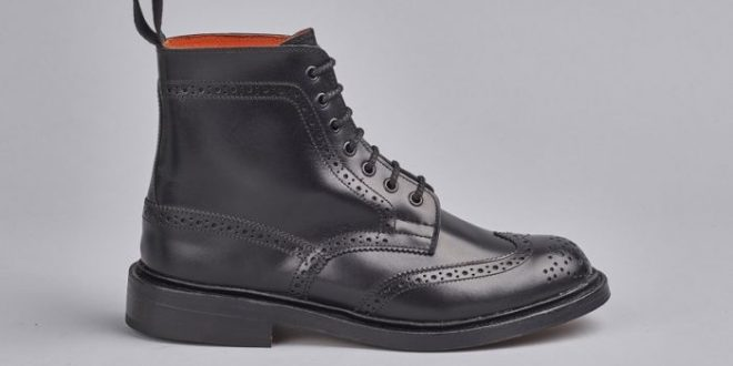 Stephy Brogue Boot | The Original Handmade English Country Shoes .