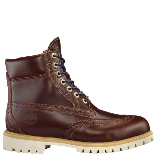 Men's Timberland® 6-Inch Waterproof Brogue Boots | Timberland US Sto