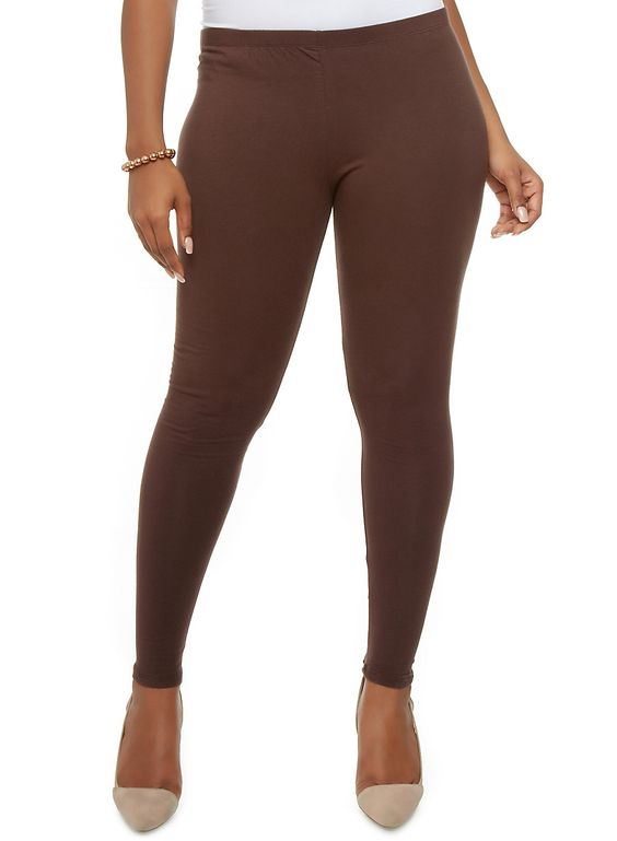 Plus Size Brown Leggings « I Need Leggin