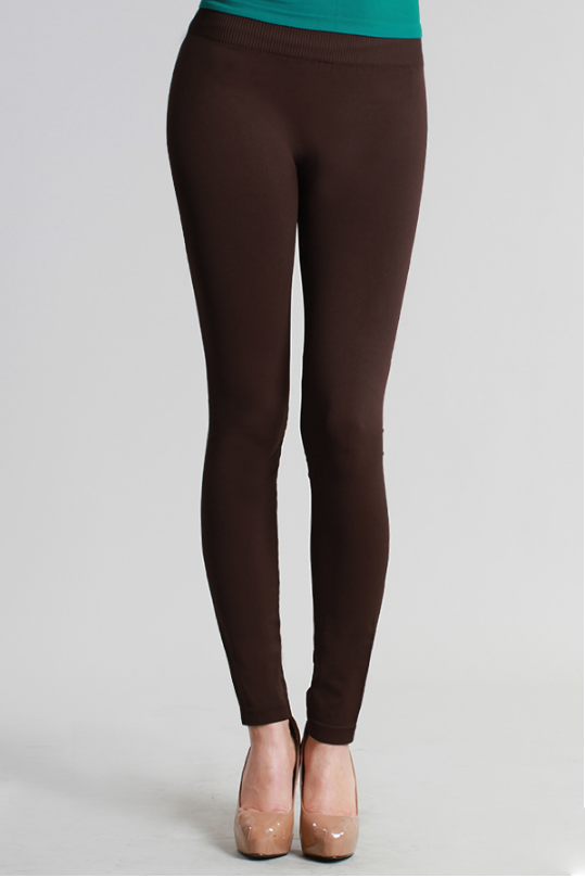 Brown Ankle Leggings | Brown leggings, Ankle length leggings .