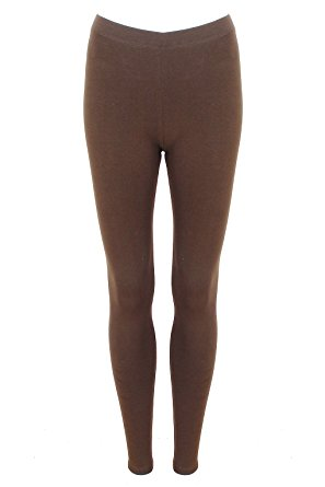 Brown leggings – styling tips – fashionarrow.c