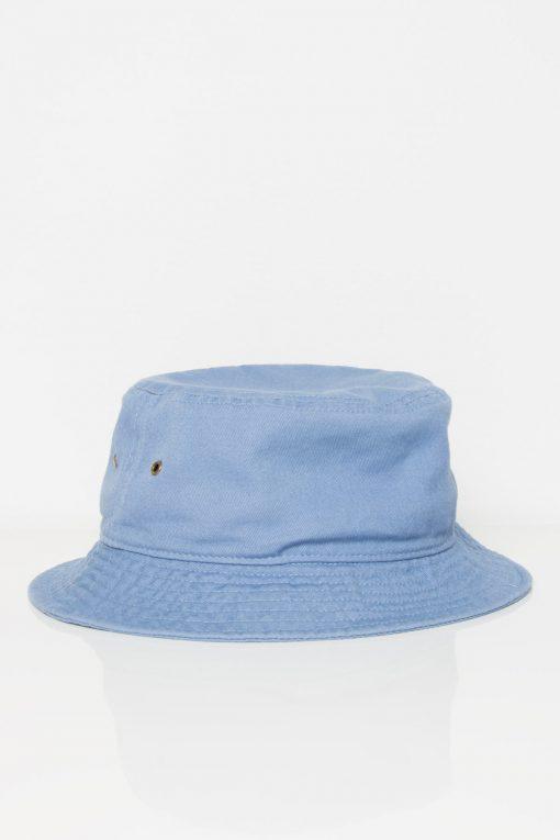 Dusty Blue Bucket Hat - Ragsto