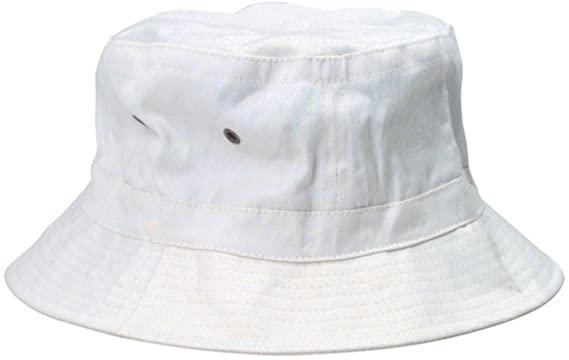 Amazon.com: White Bucket Hat: Clothi