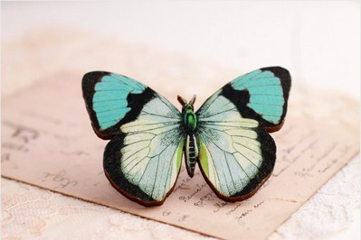 8 Butterfly brooches   101 Craft Ideas and Tutoria