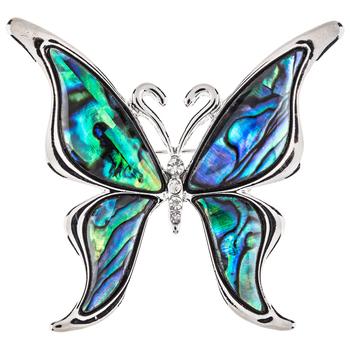 Shell Butterfly Brooch | Hobby Lobby | 12864