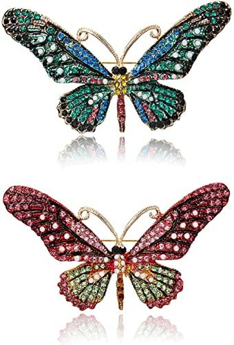 Amazon.com: RINHOO FRIENDSHIP Vintage Butterfly Brooch Pin .
