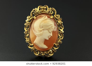 Cameo Brooch Images, Stock Photos & Vectors | Shuttersto