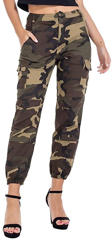 Amazon.com: Kaipiclos Camo Pants for Women High Waisted, Womens .