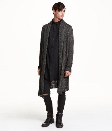 Product Detail | H&M US | Mens long cardigan, Long cardigan, Mens .