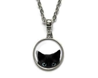 Gothic cat jewelry | Et