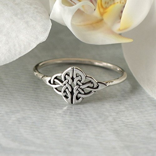 Amazon.com: Celtic Knot Ring - Infinity knot - love knot ring .