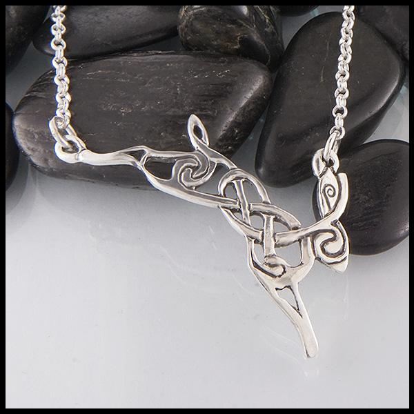 Celtic Hare Necklace | Walker Metalsmit