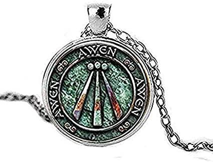 Amazon.com: Druid Protection Amulet Photo Pendant Charm Gift .
