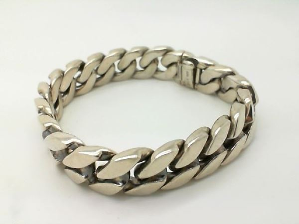 David Yurman Curb Chain Bracelet, 15mm • Sterling silver .