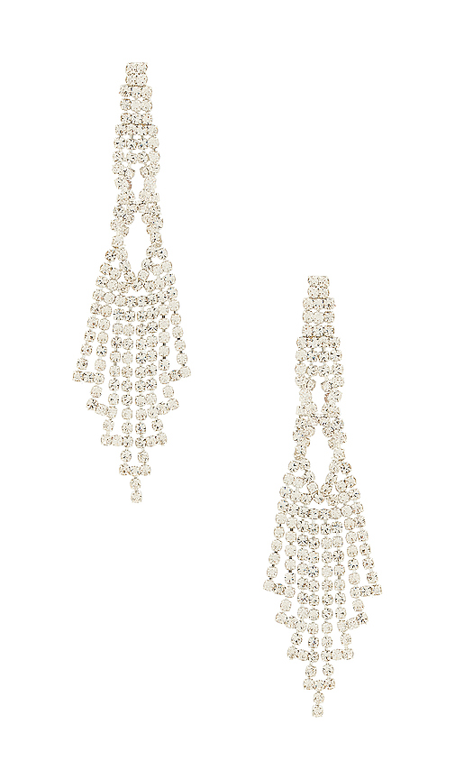 8 Other Reasons Chandelier Earring in Silver | REVOL