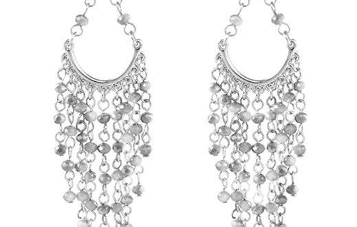 Versailles Beaded Chandelier Earrings   Hypoallergenic & Nickel .
