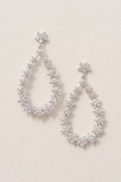 Crystal Bouquet Chandelier Earrings - BHL