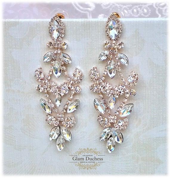 Bridal Chandelier Earrings Crystal Chandelier Earrings | Et