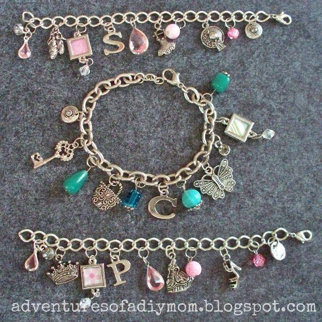 How to Make Charm Bracelets | Diy jewelry charms, Charm jewelry .