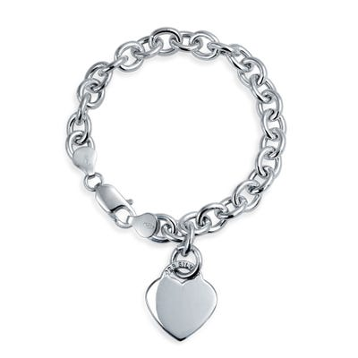 Buy Sterling Silver Charm Bracelets Online at Overstock | Our Best .