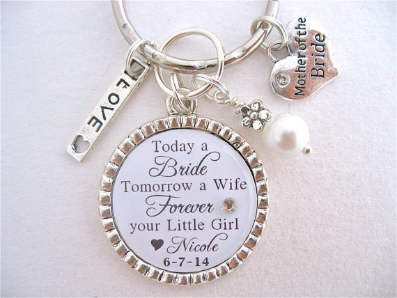 Mother Of The BRIDE Gift, Mother Of The Groom BRIDAL Jewelry Quote .