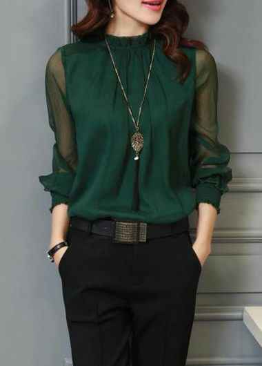Chiffon blouse – ChoosMeinSty