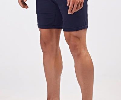 Essential Chino Shorts in Navy – TAILORED ATHLE