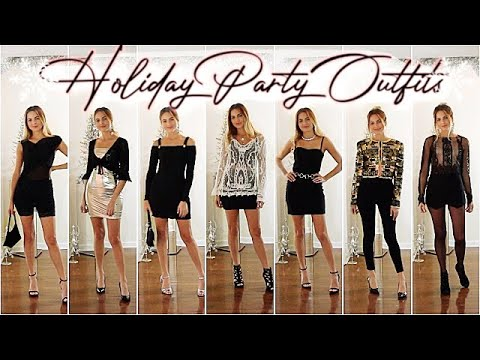 HOLIDAY PARTY OUTFITS ⇨ What to Wear to Holiday Parties for .