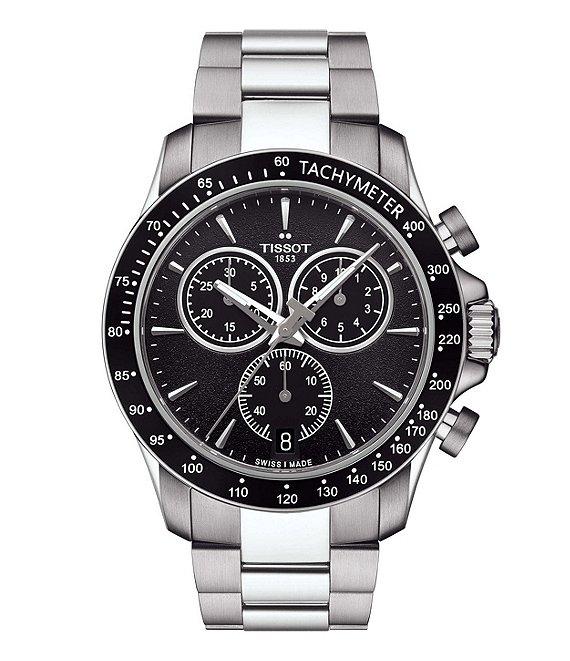 Tissot V8 Quartz Chronograph Watch | Dillard